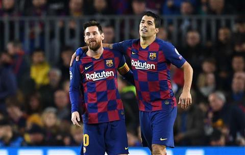 Suarez va Messi