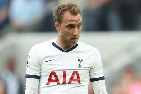MU đàm phán mua Eriksen của Tottenham vào tháng 1 năm 2020 hình ảnh