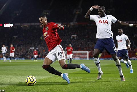 MU 2-1 Tottenham