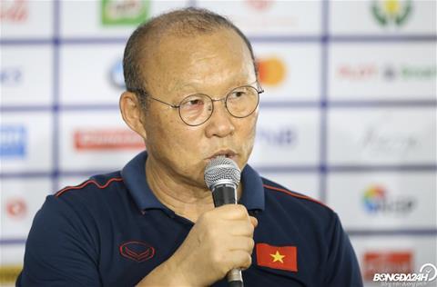 HLV Park Hang Seo nói gì sau trận U22 Việt Nam vs U22 Campuchia hình ảnh