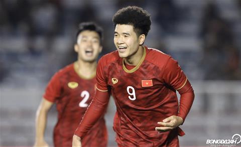 Video U22 Việt Nam vs U22 Campuchia Đức Chinh có hattrick hình ảnh