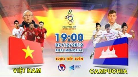 Link xem U22 Việt Nam vs U22 Campuchia trực tiếp bóng đá VTV6 hình ảnh