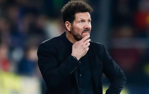 Diego Simeone chỉ ra lý do hàng công Atletico ngày một cùn hơn hình ảnh