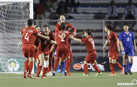 Nữ Việt Nam 1-0 Nữ Thái Lan Thắng sau 120 phút, nữ Việt Nam bảo vệ thành công HCV SEA Games hình ảnh 3