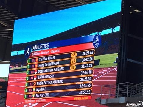TRỰC TIẾP SEA Games 30 ngày 812 Lê Tú Chinh chiến thắng ngoạn mục ở cự ly chạy 100m hình ảnh 5