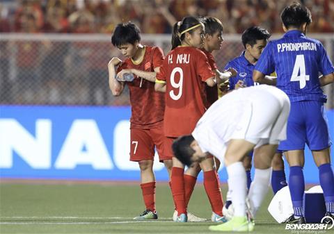 Trực tiếp bóng đá Nữ Việt Nam 1-0 Nữ Thái Lan (Hiệp phụ) Phạm Hải Yến khai thông bế tắc hình ảnh 2