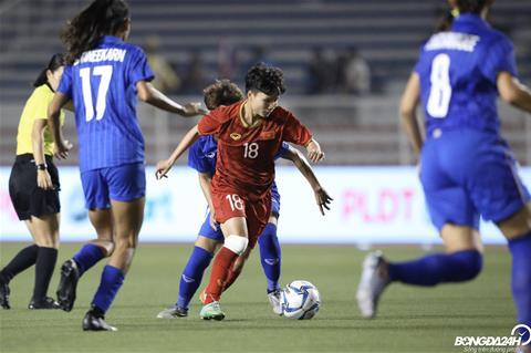 Nữ Việt Nam 1-0 Nữ Thái Lan Thắng sau 120 phút, nữ Việt Nam bảo vệ thành công HCV SEA Games hình ảnh 5