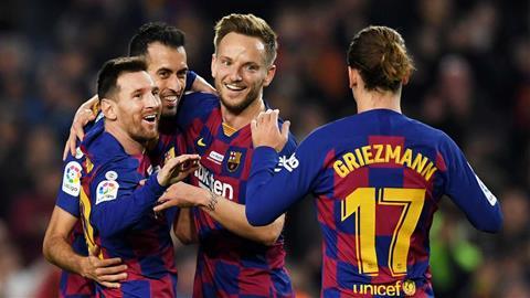 Valverde khen ngợi tiền đạo Messi sau cú hat-trick ăn mừng QBV hình ảnh