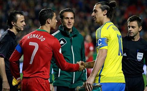 Ibrahimovic vs Ronaldo