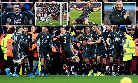 Aston Villa 1-4 Leicester City
