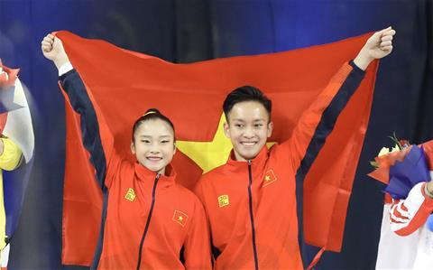 TRỰC TIẾP SEA Games 30 2019 ngày 912 Dương Văn Thái lập cú đúp HCV trên đường chạy hình ảnh 4