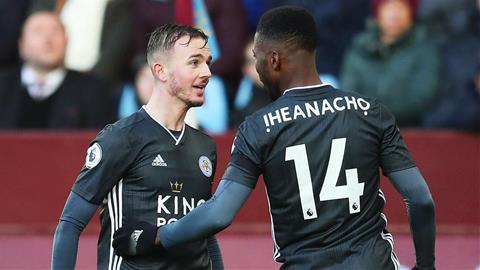 Leicester danh bai Aston Villa 4-1