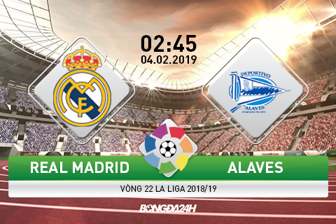 Preview Real Madrid vs Alaves