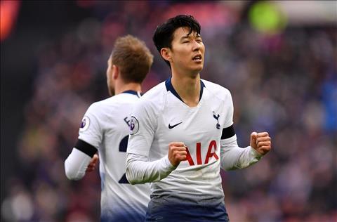 Son ghi ban cho Tottenham