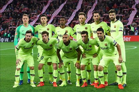 Messi tro lai doi hinh chinh Barca