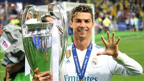 Ronaldo roi Real o He 2018