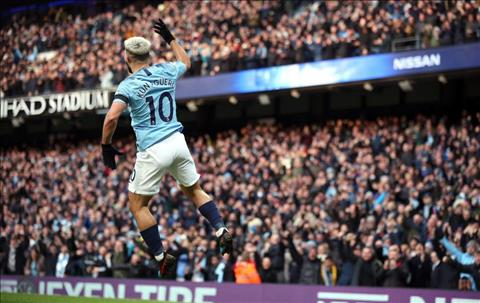 Sergio Aguero san bang ky luc cua Alan Shearer ve so hattrick tai Premier League.