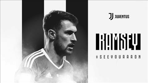 Juventus chinh thuc chieu mo Aaron Ramsey theo dang chuyen nhuong tu do tu Arsenal