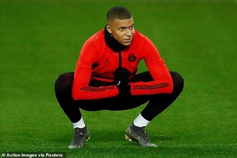 Mbappe da dat chan len tham co Old Trafford