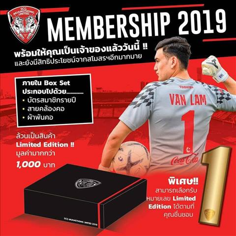 Muangthong United dung hinh anh Dang Van Lam de thu hut NHM mua ve ca mua.