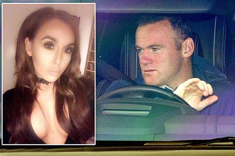 Rooney van chua chua sau scandal nhau quen duong ve voi co a Laura