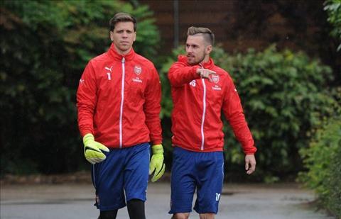 Szczesny chao mung Ramsey den Juventus