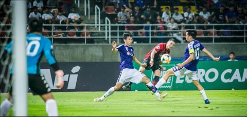 Vượt qua Bangkok United, Hà Nội FC lên trang chủ AFC hình ảnh