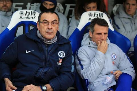 Chelsea sa thải Maurizio Sarri bổ nhiệm trợ lý Zola hình ảnh