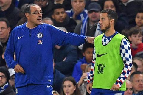Eden Hazard ca ngợi HLV Maurizio Sarri giữa những áp lực hình ảnh