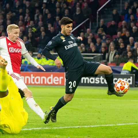 Marco Asensio ghi ban quyet dinh dem ve chien thang cho Real