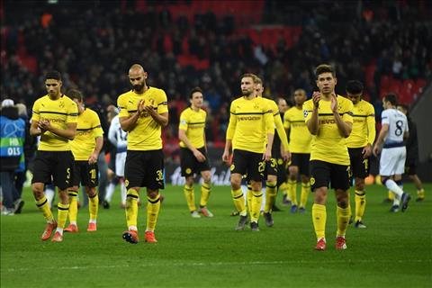 Dortmund thua 0-3 truoc Tottenham