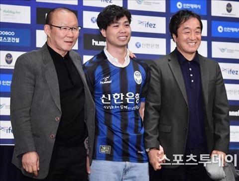 HLV Park Hang Seo vs Cong Phuong