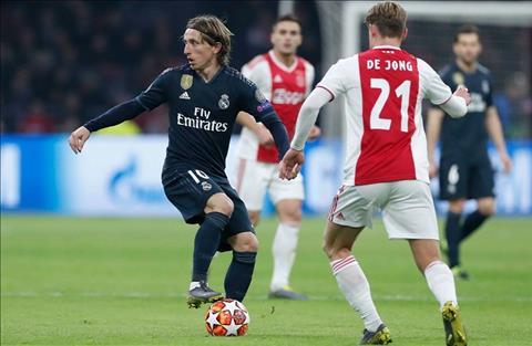 Ajax 1-2 Real Modric vs De Jong