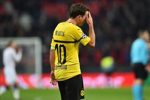 Mario Gotze thua nhan Dortmund kho di tiep sau tran thua Tottenham
