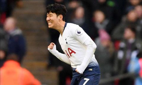 Son Heung Min cua Tottenham