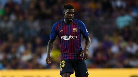 Barca sẵn sàng bán trung vệ Umtiti cho MU hình ảnh