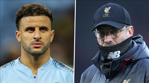 HLV Klopp của Liverpool chỉ trích hậu vệ Kyle Walker của Man City hình ảnh