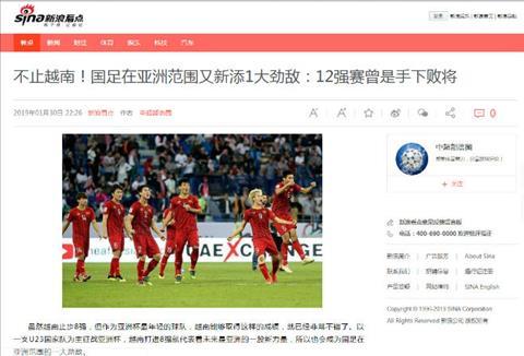 Báo Trung Quốc lo ngại bị bóng đá Việt Nam vượt mặt trong tương l hình ảnh