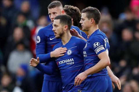Eden Hazard nói về trận thắng Huddersfield hình ảnh