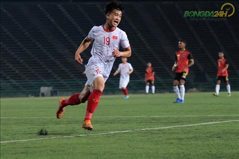 Trần Danh Trung lọt top 5 cầu thủ xuất sắc nhất U22 Đông Nam Á hình ảnh