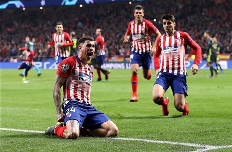 Gimenez ghi ban cho Atletico