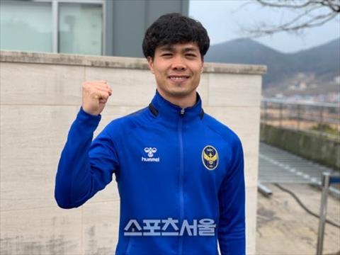 Công Phượng muốn trở thành cầu thủ Việt Nam tiêu biểu ở Hàn Quốc hình ảnh