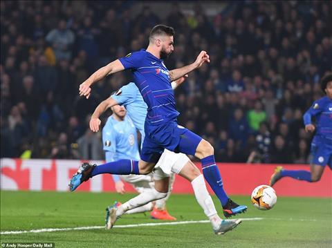 Giroud va cai duyen o Euopa League
