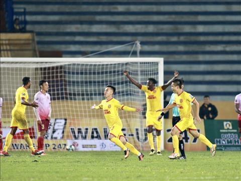 Video Nam Định vs Sài Gòn 3-1 clip bàn thắng V-League 2422019 hình ảnh