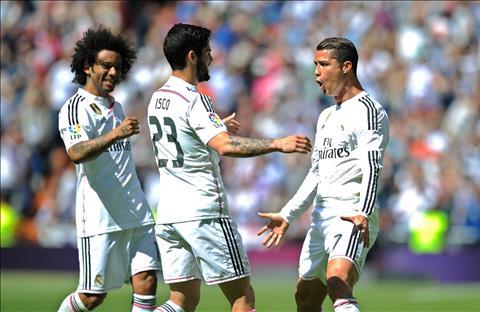 Marcelo Isco va Ronaldo tai Real