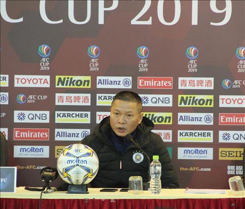 Họp báo Hà Nội 10-0 Nagaworld, HLV Chu Đình Nghiêm nói gì hình ảnh