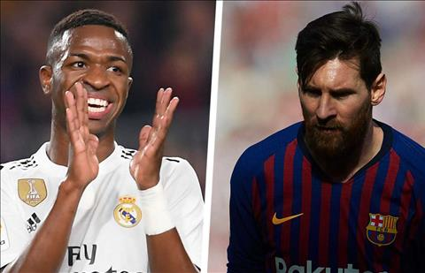 Vinicius va Messi