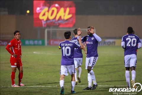 Hà Nội 10-0 NagaWorld (KT) Thắng khó tin, nhà ĐKVĐ V-League lập kỷ lục tại AFC Cup hình ảnh 3