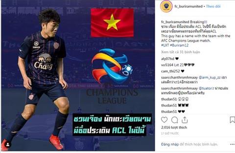 Tien ve Xuan Truong duoc dang ky tham du AFC Champions League 2019