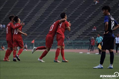 Thấy gì sau trận U22 Việt Nam 1-0 U22 Campuchia hình ảnh